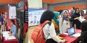 Ratusan Alumni Serbu Job Fair XIV UM