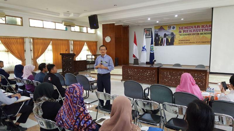Seminar Karir dan Open Rekruitmen Karyawan PT PAMA (1)