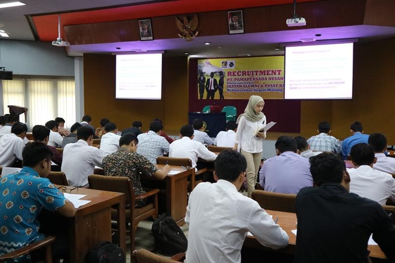 Alumni UM Siap Meraih Pekerjaan Bersama PT Pamapersada Nusantara (3)