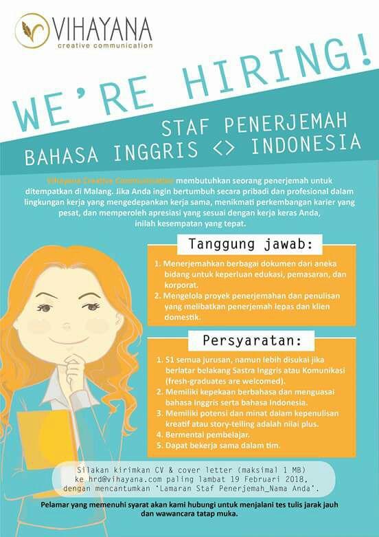info job vihayana