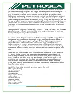 Materi Iklan Lowongan Kerja PT Petrosea Tbk-1