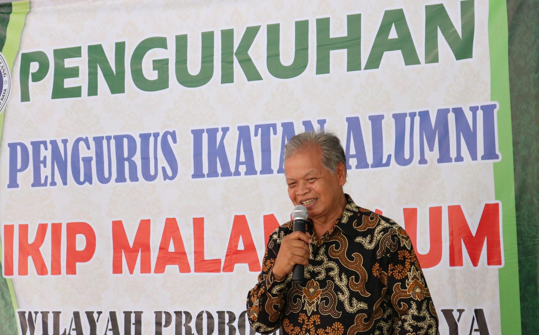 Pak Suparno-Pengukuhan IKA Probolinggo